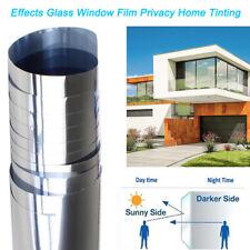 Home Tinting Window Film Privacy One Way Mirror Tint Solar Uv Heat Reflective