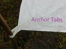 4 Anchor Loops, Peel & Stick for Footprint, Tarp, Ground cloth sheet, Tyvek Tent