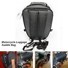 20L Universal Motorcycle Rear Sport Saddle Bag Back Seat Bag Scooter Helmet Pack