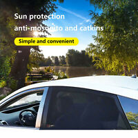 2x Car Window Sun Shades Blinds Shield Blocker Auto Cover Protector For Baby Pet