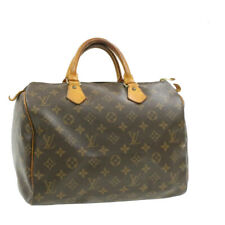 LOUIS VUITTON Monogram Speedy 30 Hand Bag M41526 LV Auth 17362