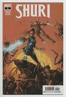 SHURI #5 MARVEL comics NM 2019 Okorafor Romero