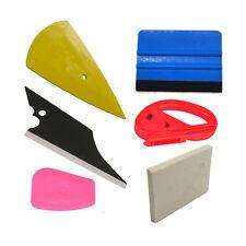 6x KFZ Lackschutzfolie Montage Rakel Werkzeug Vinyl Folie Schaber Wischer Cutter