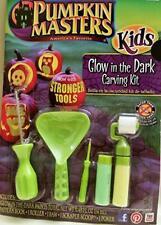 Pumpkin Master Carving Kürbis Deko Bastel Set Werkzeug Halloween Glow inthe Dark