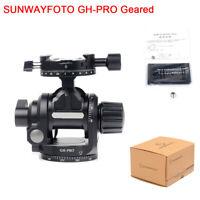 New SUNWAYFOTO GH-PRO Geared Head Made for Gitozo Manfrotto Benno Tripod Camera