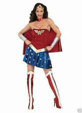 Official Ladies/Teens WONDER WOMAN Superhero Hero Fancy Dress Costume Size XS