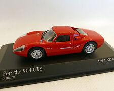 Porsche 904 GTS, 1964 rojo, MINICHAMPS 1:43