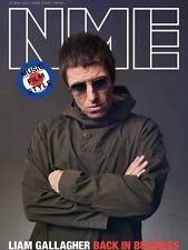 The NEW MUSICAL EXPRESS NME 26 MAY 2017 LIAM GALLAGHER Cover n.m.e. Beady Eye