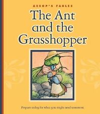 The Ant and the Grasshopper (Aesop's Fables)-ExLibrary
