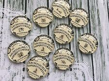 10 x 20mm Round Ouija Board Images Glass Cabochons for jewellery,crafting hobby