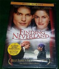 JOHNNY DEPP, KATE WINSLET,  Finding Neverland, DVD, FULL SCREEN, NEW