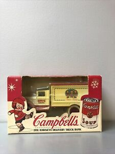 Campbells Soup Company ERTL 1931 Hawkeye Delivery Truck Bank 1:34