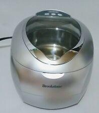 Brookstone Ultrasonic Jewelry/DVD Cleaner  New!