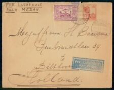 Mayfairstamps Netherlands Indies 1931 Batavia to holland Airmail Cover wwg11411