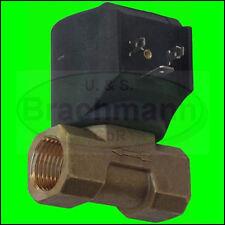 """CEME Magnetventil 1/2"""" Messing  12V bis 230V, 0-15bar, NEU"""