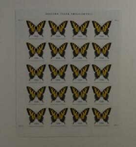 US SCOTT 4999 EASTERN TIGER SWALLOWTAIL STAMPS PANE OF 20 - 71 CENT FACE MNH