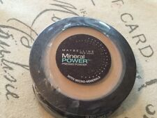 Maybelline Mineral Power Pressed Powder With Micro Minerals Light New