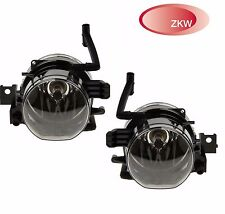 BMW E65 750 760 E66 Front Pair Set of Left & Right Fog Lights Lamps OEM ZWK