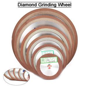 "Diamond Grinding Wheel 3"" ~ 8"" Abrasive Disc for Carbide Cutting Tool Sharpeners"