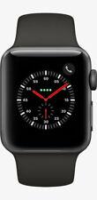 Apple Watch Series 3 38mm Space Gray Aluminium Black Sport Band (GPS) MQKV2LLA