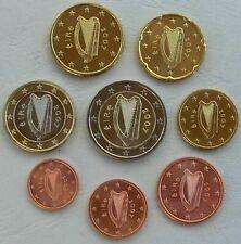 ****IRLANDA EIRE 1 CENT-2 EURO 2003-2007-2016-2019 FIOR DI CONIO PERFETTE