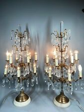 Bronze Pair Of Louis Xvi Candelabras/Candle Holders - Worldwide Shipping