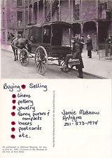 AMBULANCE AT BELLVUE HOSPITAL NY c 1896 REPRODUCTION POSTCARD