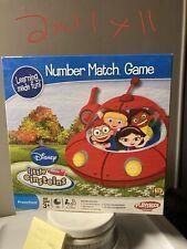 Little Einsteins Number Match Game Disney Playskool Hasbro 2008 Educational