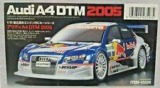 Tamiya glow engine Audi A4 DTM 2005 43526 EXPERT BUILT RTR NIB