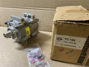 Ford F6RZ-19703-BA A/C Compressor w/o Clutch for 1999-2002 Mercury Cougar YC-186