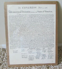VINTAGE COPY OF DECLARATION OF INDEPENDENCE SHRINK WRAPPED USA