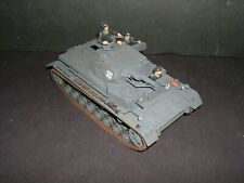 BUILT 1/35 WW2 TAMIYA PANZER IVD WITH SPACED ARMOR,3 CREWMAN FRANCE 1940