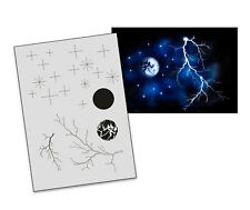 Step by Step Airbrush Stencil AS-027 M ~ Template ~ UMR-Design