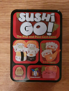 Gamewright Sushi Go - The Pick and Pass Card Game 8+