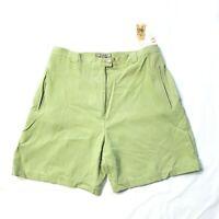 NWT Tommy Bahama Women's Size 6 100% Silk Walking Dress Shorts High Rise Pockets