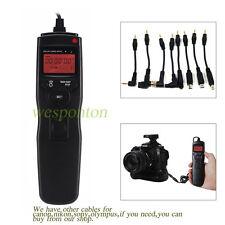 LCD Timer Remote Control cable fr OLYMPUS E3 E5 E10 E20 C8080 C7070 C5060 C2500L