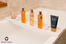 Bamboo Wood Bath Tub Rack Bathroom Shelf Tidy Tray Storage Caddy Organiser Gift