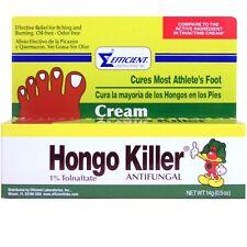 Hongo Killer Antifungal Foot Cream for Athletes Foot - Pie de Atleta, 0.5 Ounce