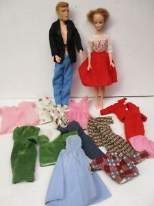 Vintage  Dr. Kildare & Nurse Doll Barbie Clone w/Clothes Made In Japan