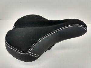 Schwinn Quality Girl / Women Inspired Black Saddle Bicycle Saddle Gel Padding