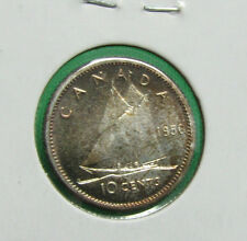 1956 Canada 10 cents proof like