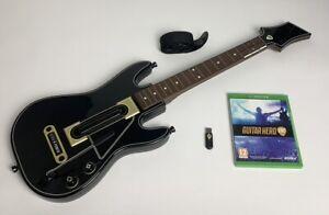 Guitar Hero Live Guitar + Game + Dongle - Xbox One | TheGameWorld