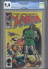Uncanny X-Men #197 CGC 9.4 1985 Marvel Nimrod, Arcade, Miss Locke App:New Frame