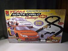 NEW LIFE/LIKE TEAM MONTE CARLO CHALLENGE H.O. SCALE ELECTRIC SLOT CAR RACING NEW