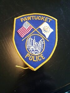 Pawtucket, Rhode island police patch