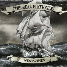"""THE REAL MCKENZIES """"WESTWINDS"""" CD NEW+"""