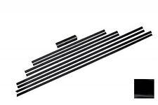Türleisten Strips für Mercedes G-Klasse W463 89-17 Türverkleidungen Schwarz