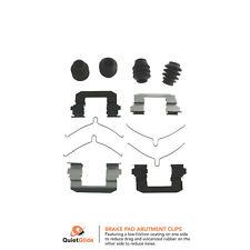 NEW For Acura TL Honda Ridgeline Front and Rear Disc Brake Hardware Kit Carlson