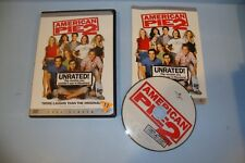 American Pie 2 (DVD, 2002, Unrated Version Collectors Full Frame Edition)