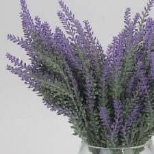 Artificial 38cm Purple Lavender Heather Spray Stem wedding floral flower Beauty